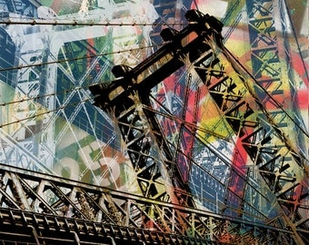 Williamsburg Bridge Abstract 01