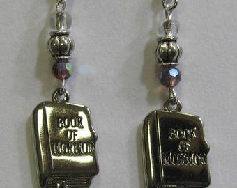 Book of Mormon Earrings E13