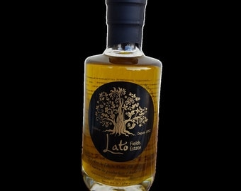 Greek Premium Extra Virgin Olive Oil sold directly from a producer 200ml elegant bottle