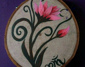 Custom Tree Stump Paintings