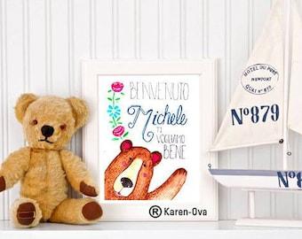Teddy bear cute customizable