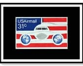 Vintage USA Flag Wall Art...