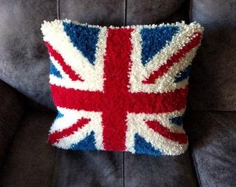 Handmade Union Jack Cushion