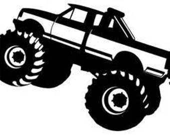 monster truck svg