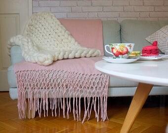 couverture g ante etsy. Black Bedroom Furniture Sets. Home Design Ideas