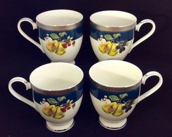 Mikasa Harvest Suite Set of Four Mugs