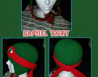 TMNT Earflap hat, earflap hat, turtle hat, crochet hat, christmas gift, birthday gift