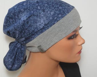 Head scarf Hat/TURBAN high wearing comfort, practical and comfortable ideal for chemotherapy hair loss alopecia instead of wig chemo