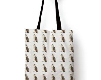 Barn Owl edge to edge Tote bag