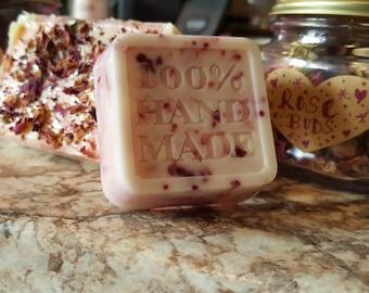 Sensual Rose & Cocoa Butter Bath Bar