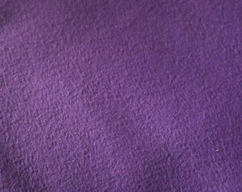 6 Purple Fleece Vintage fabric