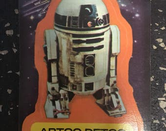 Star Wars R2-D2 Sticker