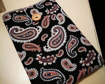 Paisely Black Kindle Paperwhite Case