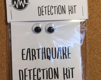 Earthquake Detection Kit: Gag Gifts; White Elephant; Novelty Gifts
