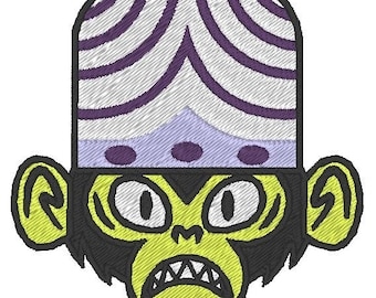 Mojo Jojo embroidered patch