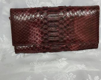 Lemiena Signature, Python Clutch bag is exquisite, eye-catching evening clutch