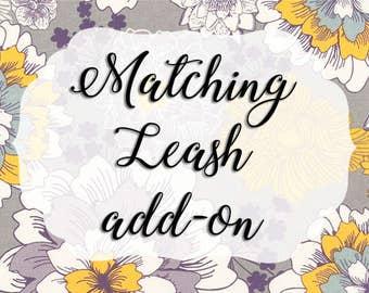 Matching Leash Add-On