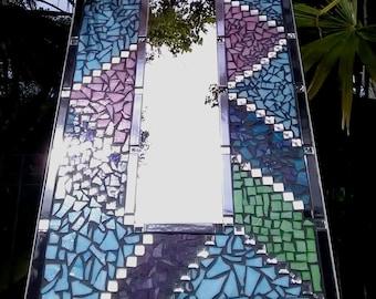 Free shipping worldwide Mosaic mirror wall feature home décor full length mirror pretty mirror