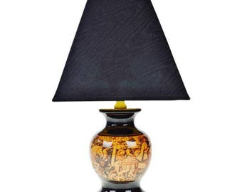 Vintage Decorative Table Lamp with Shade
