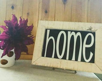 Cute small home sign