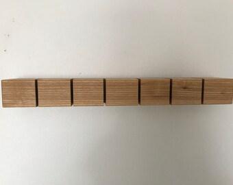 6 slot Key holder solid Oak