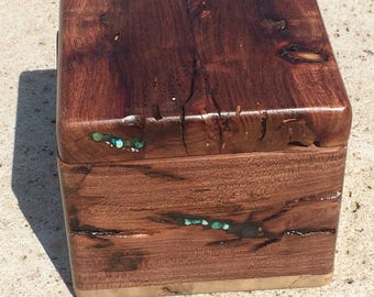 Small Mesquite Jewelry Box - Beauty From Ashes Collection