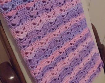 Crochet pram Blanket