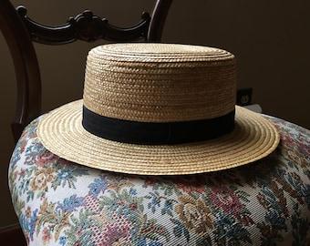 Classic Man's Straw Hat