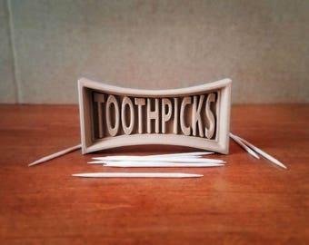 TOOTHPICK Holder: Signature