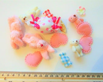 Fluffy pink Kawaii lot