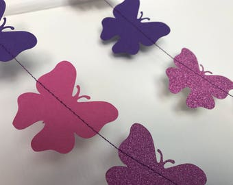 Beautiful butterfly garland
