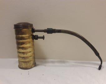 Vintage Eagle Brass Oiler Can
