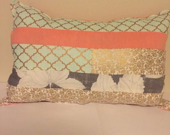 Decorative Pillow Coral Chic