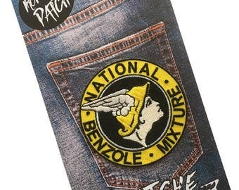 National Benzole Embroidered Iron On Patch