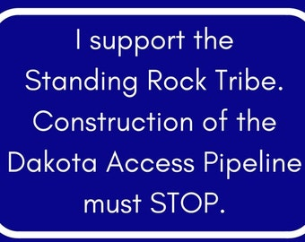 Send Progressive Postcards to Your Congress People about NO DAPL.