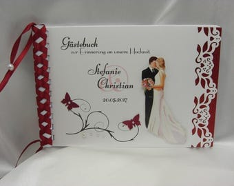 Guestbook for wedding No. G005