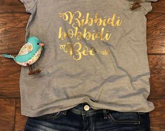Bibbidi Bobbidi Boo, is cinderella's fairy godmother gift for the ball ! Womens t-shirt