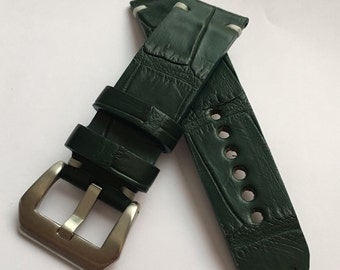 I sell Handmade alligator Strap 23 mm true strap