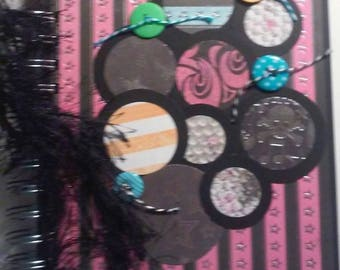 Punk Rock Scrapbook Album