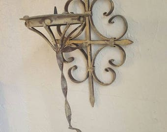 Vintage Gothic Candle Sconce