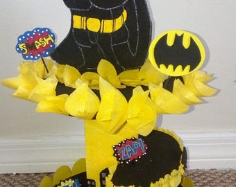 Cupcake Stand or Batman Centerpiece.