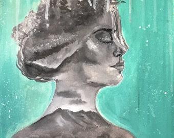Introspective - Original Acrylic Painting