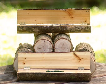 Hide a Key Log Box + Two Logs