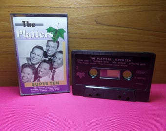 The Platters - Super ten - cassette tape