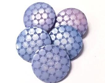 Vintage Periwinkle Buttons