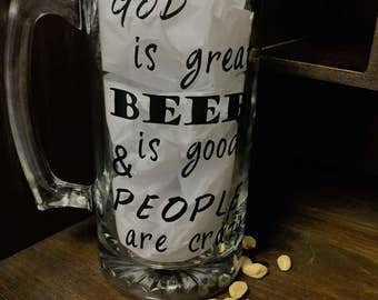 god is great beer is good and people are crazy, god is great, beer is good, people are crazy, beer, god, people, beer mug, beer