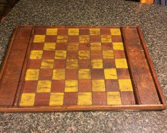 Antique game board