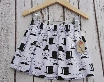 Girls Skirt, Childs Skirt, Toddler Skirt, Cotton Skirt