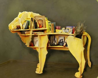 Animal book shelf