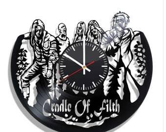Cradle of Filth Wall clock with original design